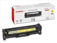 Canon CRG-718 Y toner cartridge - yellow (Canon CRG 718 Y)