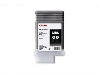 Canon PFI-102MBk tintapatron - matt fekete (Canon PFI-102MBk)