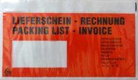 Dokufix tasak (LD) 225 x 125 mm (piros) - 1000 darab / doboz (Okmánykísérő tasak LD, piros)