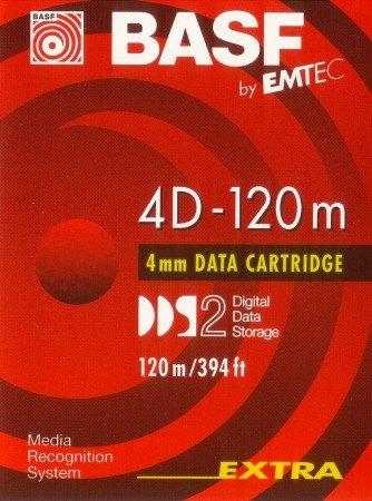 BASF DAT 4D-120 m adatkazetta (DDS2) - 4 / 8 GB (DDS2)