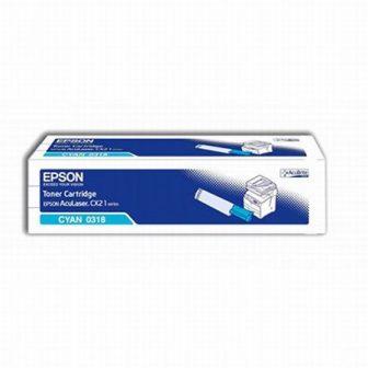 Epson S050318 toner cartridge - cyan (Epson C13S050318)