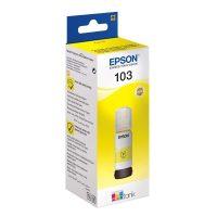 Epson T00S4 EcoTank yellow (No. 103) - sárga színű - 1 patron / csomag, 65 ml (Epson C13T00S44A)