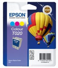 Epson T020401 tintapatron - színes - 1 patron / csomag (Epson C13T02040110)