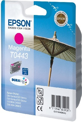 Epson T04434010 tintapatron - bíborvörös színű - 1 patron / csomag (Epson C13T04434010)