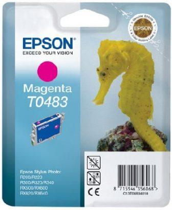 Epson T04834010 tintapatron - bíborvörös színű - 1 patron / csomag (Epson C13T04834010)