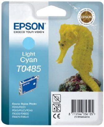 Epson T04854010 tintapatron - világos ciánkék színű - 1 patron / csomag (Epson C13T04854010)
