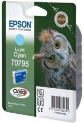 Epson T07954010 tintapatron - világos ciánkék színű - 1 patron / csomag (Epson C13T07954010)