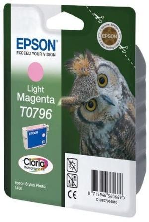 Epson T07964010 tintapatron - világos bíborvörös színű - 1 patron / csomag (Epson C13T07964010)