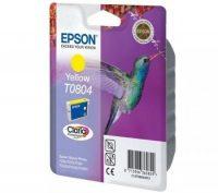 Epson T08044010 tintapatron - sárga színű - 1 patron / csomag (Epson C13T08044010)