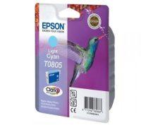 Epson T08054010 tintapatron - világos ciánkék színű - 1 patron / csomag (Epson C13T08054010)