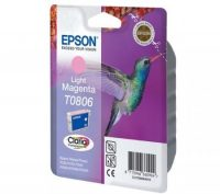 Epson T08064010 tintapatron - világos bíborvörös színű - 1 patron / csomag (Epson C13T08064010)
