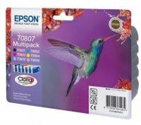 Epson T08074010 Multipack - 1 fekete + 5 szín - 6 patron / csomag (Epson C13T08074010)