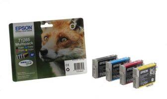 Epson T12854010 Multipack - 1 fekete + 3 szín / csomag (Epson C13T12854010)