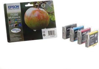 Epson T12954010 Multipack - 1 fekete + 3 szín / csomag (Epson C13T12954010)