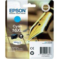 Epson T163210 cyan ink cartridge (Epson 16XL) - ciánkék tintapatron (Epson C13T16324010)