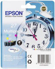 Epson T270540 multipack (Epson 27) - cyan, magenta, yellow tintapatron egy csomagban (Epson C13T27054010)