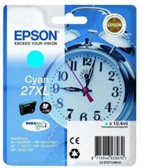 Epson T271240 cyan ink cartridge (Epson 27XL) - ciánkék tintapatron (Epson C13T27124010)