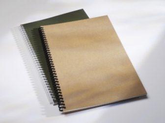 GBC Recycled 'Eco-Series' világosbarna borítólap újrahasznosított anyagból A4 méretben - vastagság: 300 micron - 100 darab csomag (GBC 4400004)