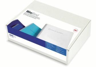 GBC WireBind A4 -es 34 gyűrűs fémspirál, 14 mm átmérőjű, fekete színben, lyukkiosztás: 3:1, 100 darab / doboz (GBC RG810910)