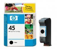 HP 51645A No. 45 tintapatron - black (Hewlett-Packard 51645A)