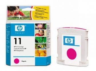 HP C4837A No. 11 tintapatron - magenta (Hewlett-Packard C4837A)