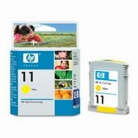 HP C4838A No. 11 tintapatron - yellow (Hewlett-Packard C4838A)