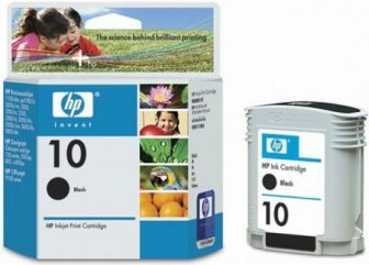 HP C4844A No. 10 tintapatron - black (Hewlett-Packard C4844A)