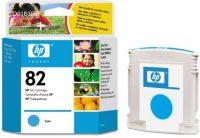 HP C4911A No. 82 tintapatron - cyan (Hewlett-Packard C4911A)