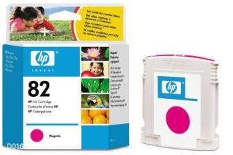 HP C4912A No. 82 tintapatron - magenta (Hewlett-Packard C4912A)