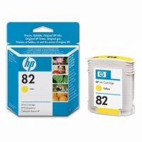 HP C4913A No. 82 tintapatron - yellow (Hewlett-Packard C4913A)