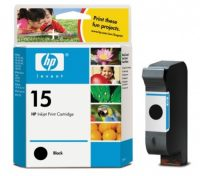 HP C6615D No. 15 tintapatron - black (Hewlett-Packard C6615D)