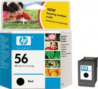 HP C6656A No. 56 tintapatron - black (Hewlett-Packard C6656A)