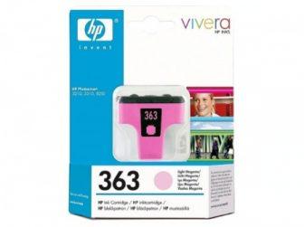 HP C8775E No. 363 tintapatron - light magenta (Hewlett-Packard C8775E)