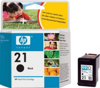 HP C9351A No. 21 tintapatron - black (Hewlett-Packard C9351A)
