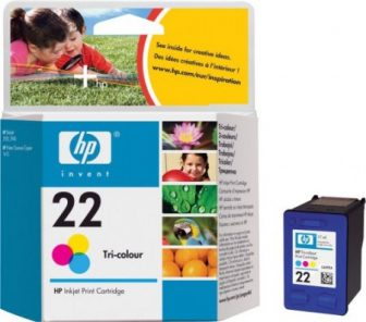 HP C9352A No. 22 tintapatron - colour (Hewlett-Packard C9352A)