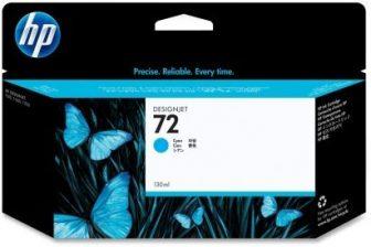 HP C9371A No. 72 tintapatron - cyan (Hewlett-Packard C9371A)