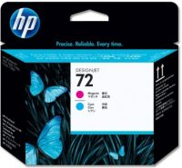 HP C9383A No. 72 nyomtatófej - magenta / cyan (Hewlett-Packard C9383A)