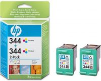 HP C9505A No. 344 dupla csomag 2 x HP C9363E - colour (Hewlett-Packard C9505A)