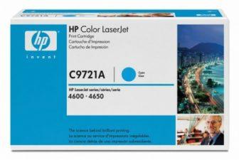 HP C9721A toner cartridge - ciánkék (Hewlett-Packard C9721A)