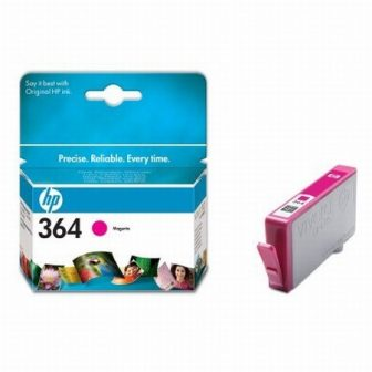 HP CB319E No. 364 tintapatron - magenta (Hewlett-Packard CB319E)