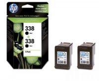 HP CB331E No. 338 dupla csomag 2 x HP C8765E - black (Hewlett-Packard CB331E)