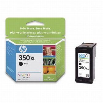 HP CB336E No. 350XL tintapatron - black (Hewlett-Packard CB336E)