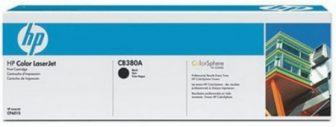 HP CB380A toner cartridge - fekete (Hewlett-Packard CB380A)