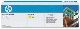 HP CB382A toner cartridge - sárga (Hewlett-Packard CB382A)