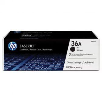 HP CB436AD toner cartridge pack - 2 darab HP CB436A toner - fekete (Hewlett-Packard CB436AD)