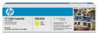 HP CB542A festékkazetta (No. 125A) - sárga (Hewlett-Packard CB542A)