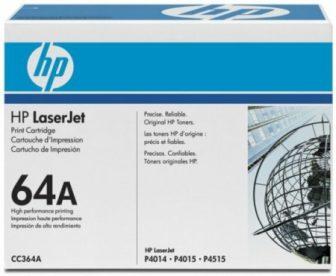 HP CC364A toner cartridge - fekete (Hewlett-Packard CC364A)