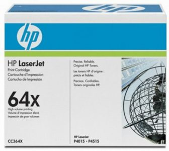 HP CC364X toner cartridge - fekete (Hewlett-Packard CC364X)