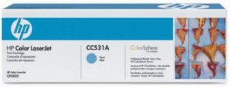 HP CC531A festékkazetta (No. 304A) - ciánkék (Hewlett-Packard CC531A)