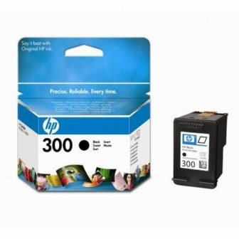 HP CC640E No. 300 tintapatron - black (Hewlett-Packard CC640E)